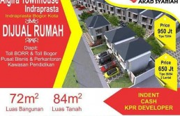 Algira Townhouse Indraprasta Bogor Kota